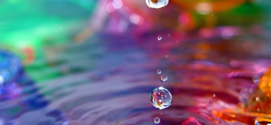 acqua colorata