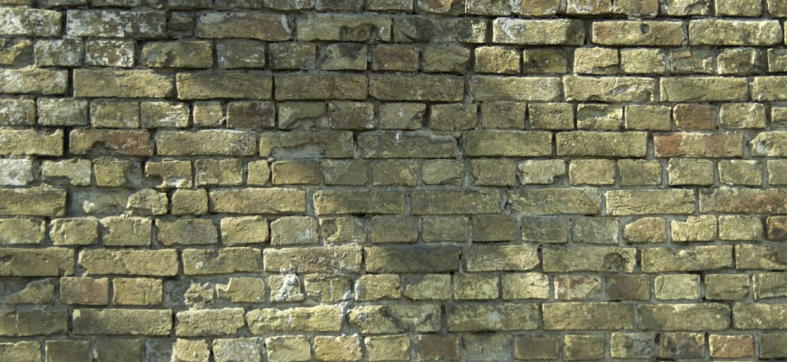 紋理。舊磚牆